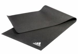 Adidas dark grey yogamåtte