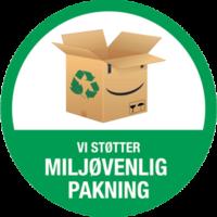 miljøvenlig pakning hos yogamaatte.dk