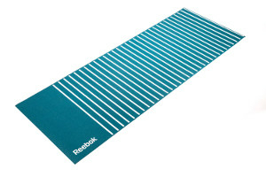 Reebok green stripes yogamåtte